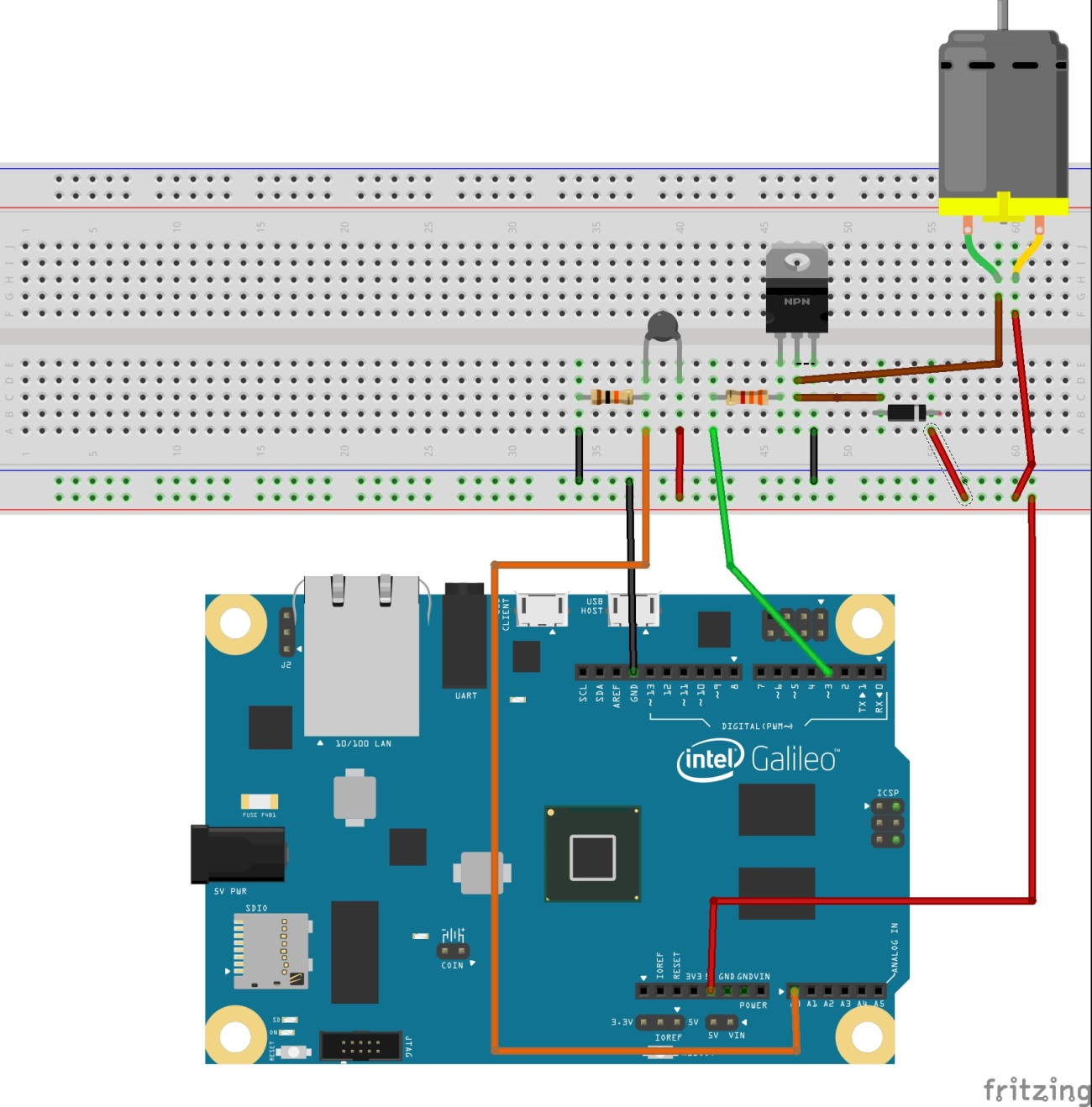 Temperature Control How To Build A Simple Thermistor Circuit Proto3